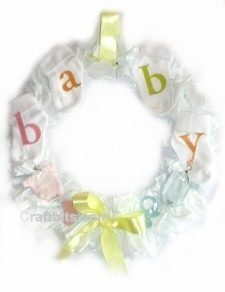 Baby Shower – Room Wreath
