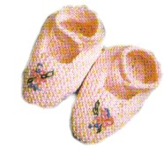 Baby Slippers – Mary Janes