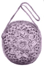 Lotus Flower Crochet Bag