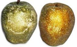 Glitter Pumpkin & Fruit