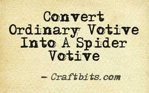 Spider Votive