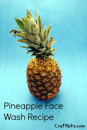 pineapple-face-wash