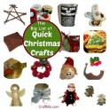 Quick Christmas Crafts