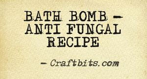 Bath Bomb – Anti Fungal