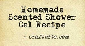 homemade-scented-shower-gel