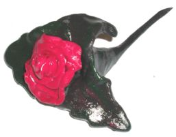 Rose Posy Ring Holder