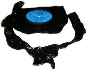 Vinyl LP Record Necklace