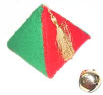 felt pyramid bell