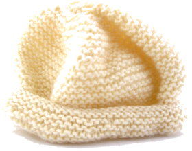 How to knit a baby hat that is quick and easy