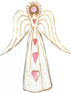 Aged Angel TreeTopper