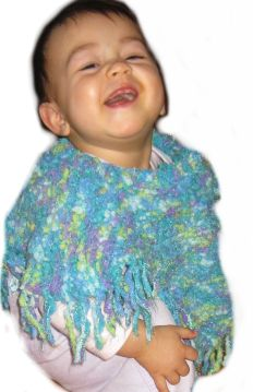 baby-poncho-knitted