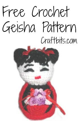 Amigurumi Free Patterns Geisha : Amigurumi Crochet: Geisha Doll craftbits.com