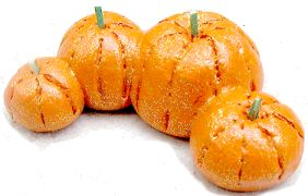 Salt Dough Pumpkin Patch