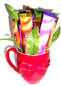 Coffee Sachet Bouquet