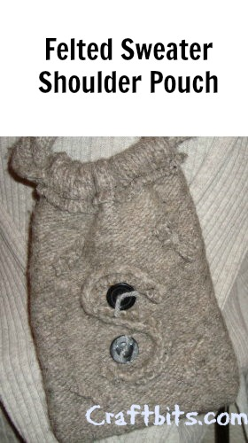 Felted Sweater – Shoulder Pouch