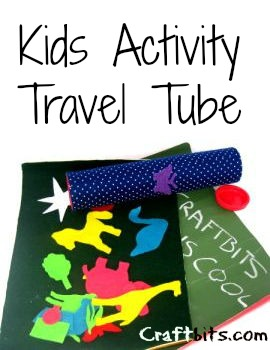 Kids Activity Travel Tube