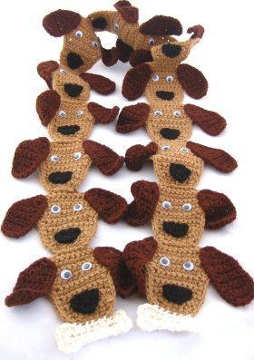 puppy-dog-crochet-scarf-finished