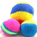 knitted-kids-play-ball