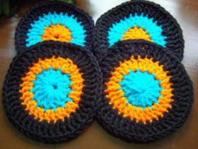 Easy Crochet Coasters