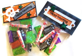 Treat Bag – Stamped Bag Toppers