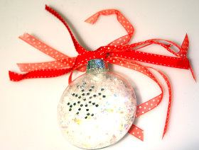5 Minute Blinged Bauble Tree Ornament