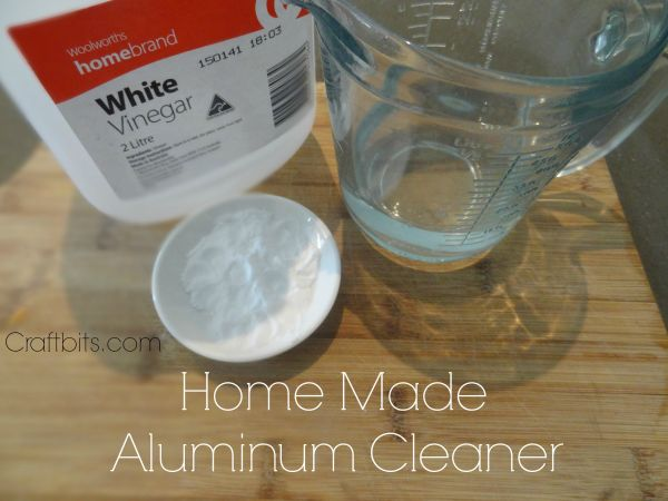 Home Made Aluminum Cleaner