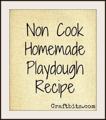 non-cook-playdough