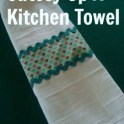 Cutesy Up a Kitchen Towel