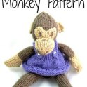 Jane Cheeky Monkey Knitted Pattern