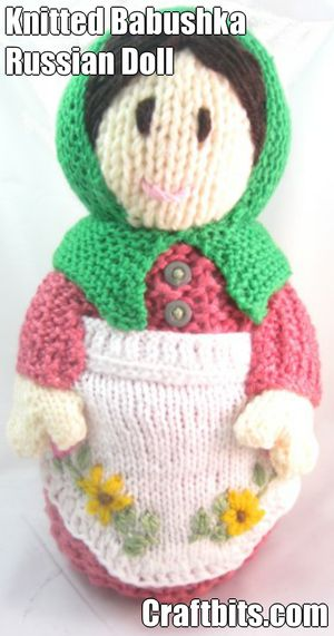 Knitting Pattern Russian Doll : Babushka Russian Doll   Spring   craftbits.com