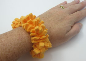 Upcycled Shamwow – Wrist Sweat band
