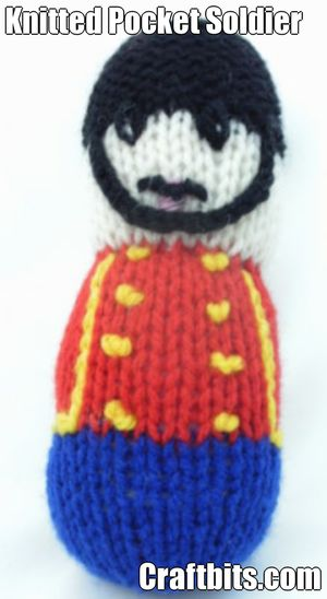 Knitted Pocket Soldier