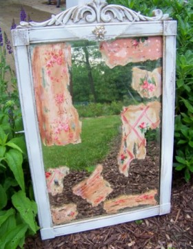 Recycled Shabby Chic Mirror
