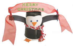 Penguin_with_Christmas_banner
