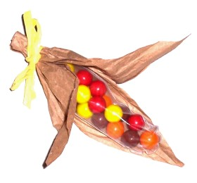 Thanksgiving Craft: Indian Candy Corns
