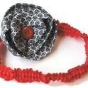 Hair Band - Fabric Flower