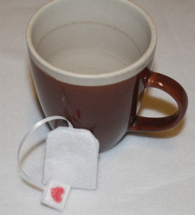 Tea Bag Made Of Felt