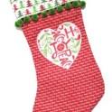 stocking-applique