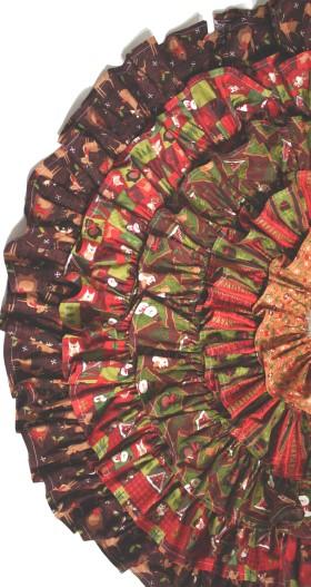Tree Skirt Ruffles
