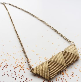 Necklace Made From Spaghetti