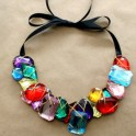 Necklace Cabochon Bib