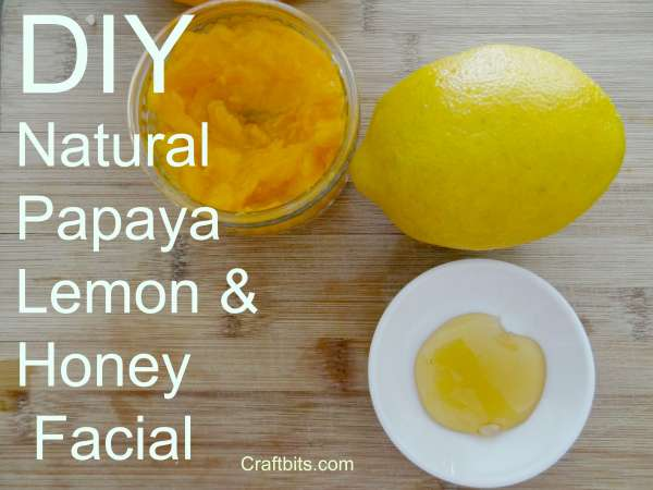 honey-papaya-lemon-facial-recipe-DIY