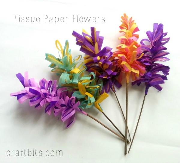 How To Make Tissue Paper Hyacinth Flowers — craftbits.com