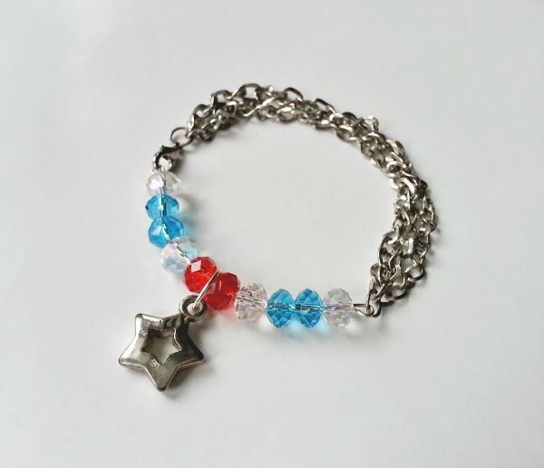 4th of July Inspired Bracelet