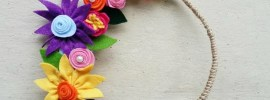 felt-flowers-wreath-free-tutorial