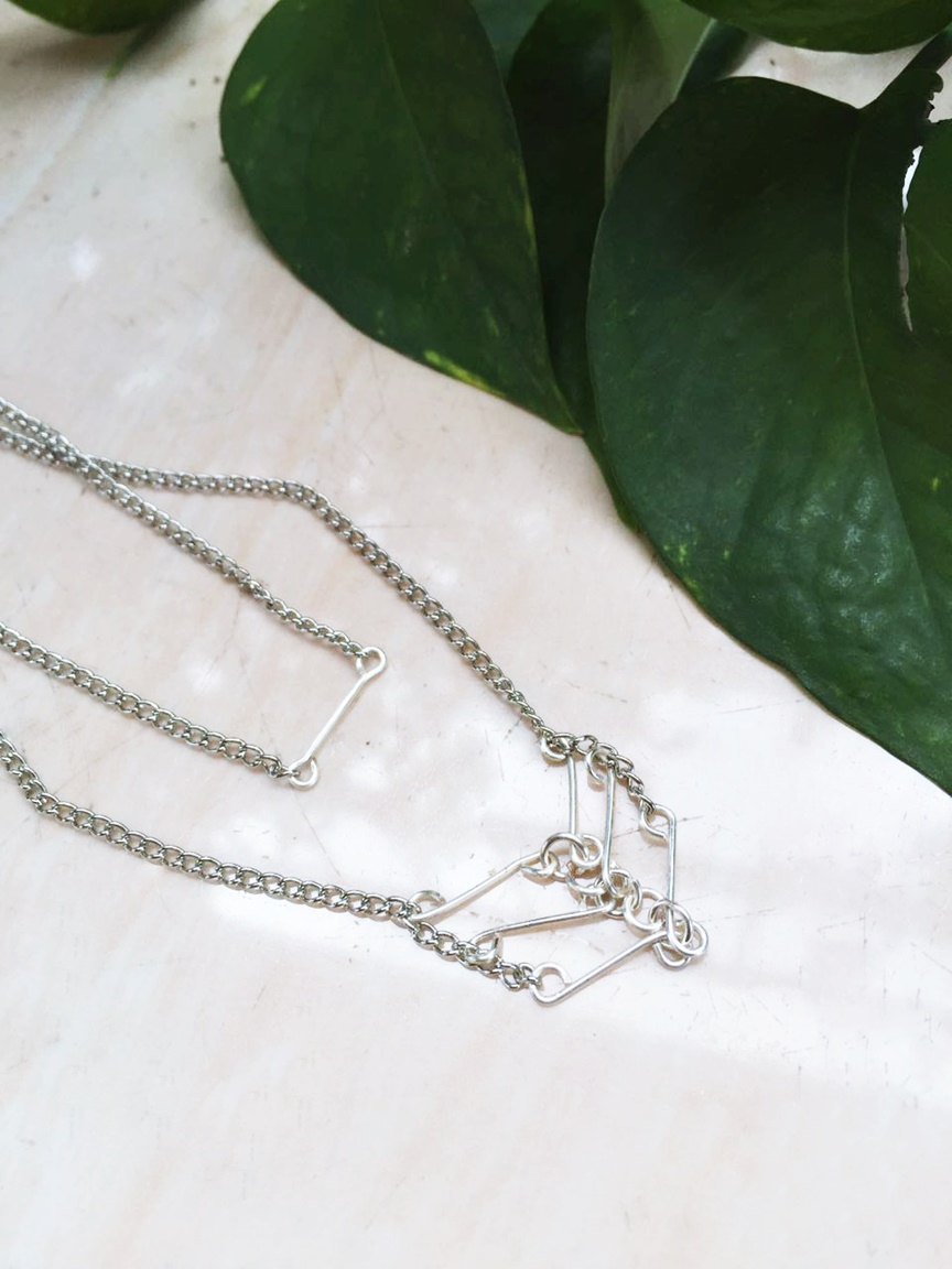 DIY Wire Necklace