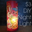 DIY Placemat Night Light