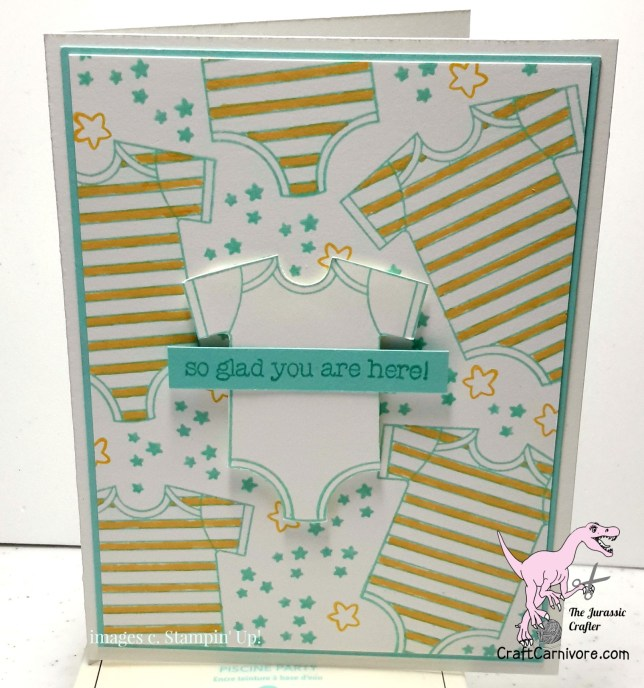 Letter B for Baby card