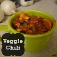 Whip It Up Wednesday-Veggie Chilli