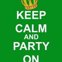 Keep Calm and Party On Printable